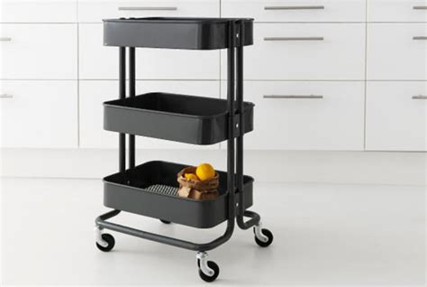 Ikea Rolling Kitchen Island Kitchen Utility Cart With Wheels Stereomiami