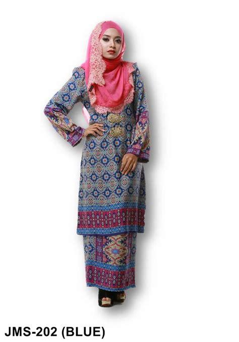 design baju untuk kain sutera baju kurung sutera crepe cetakan songket koleksi juwita