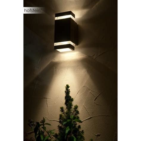 outdoor beleuchtung lutec focus outdoor wall light led anthracite 6050 gr led