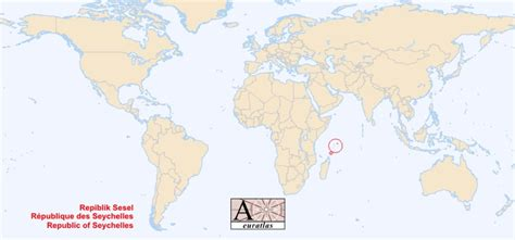 seychelles map location world world atlas the sovereign states of the world