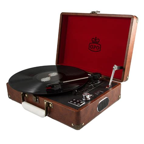 U K Records Vintage Brown Gpo Attach 233 Turntable Vinyl Record Player Australia Rockit