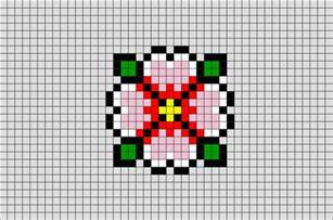 spring flower pixel art brik