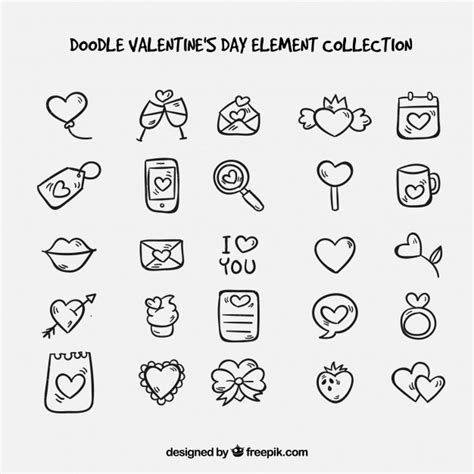 how to edit doodle doodle s day element collection vector free
