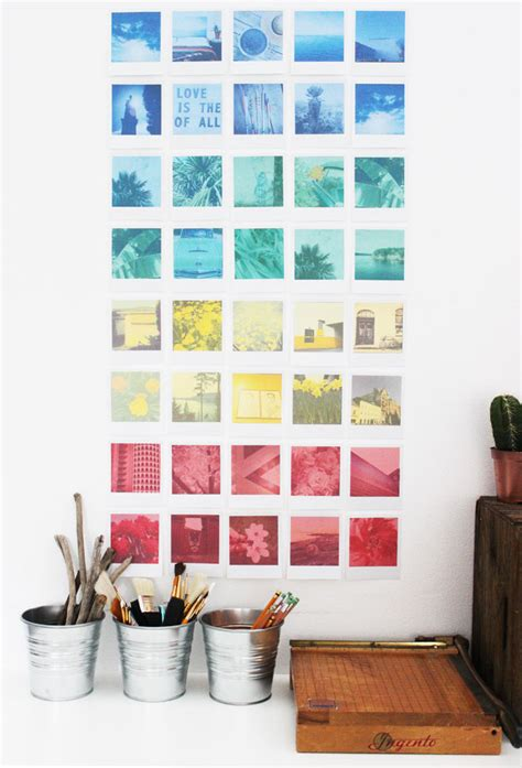 diy printable home decor diy instagram polaroid wall art free printable poppytalk