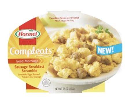 Hormel Shelf Stable Meals by Hormel Foods Introduces Hormel Compleats Breakfast
