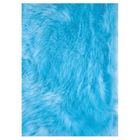 blue flokati rug la rug flokati light blue 2 ft 7 in x 3 ft 11 in accent rug flk 011 3147 the home depot