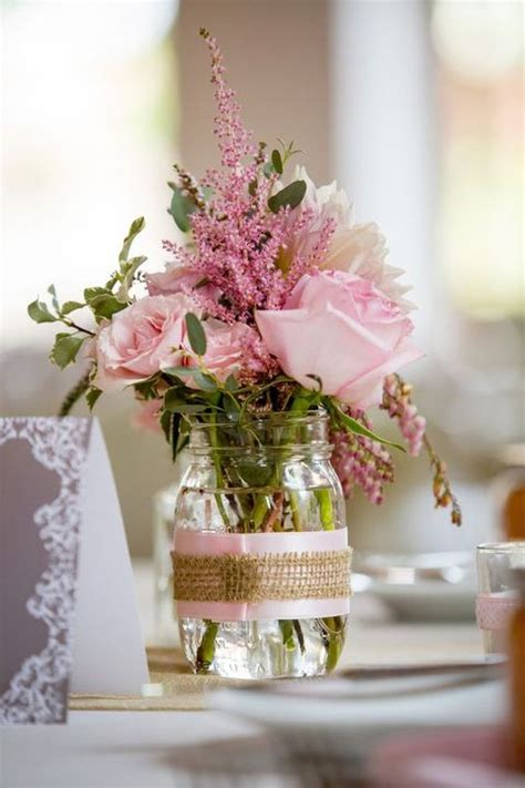 52 and simple backyard wedding centerpieces