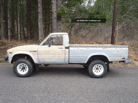 Toyota Truck 4x4 1981 Toyota Truck 4x4 22r Hilux