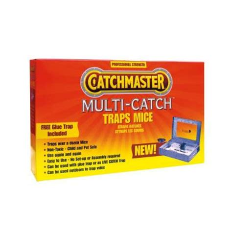 catchmaster multi catch metal mouse trap 606mc the home