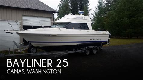 used fishing boats washington state bayliner fishing boats for sale in washington used