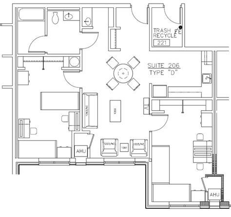 college dorm floor plans residence hall floor plans western technical college