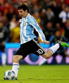 foot player lionel messi world cup 2010 football gallery