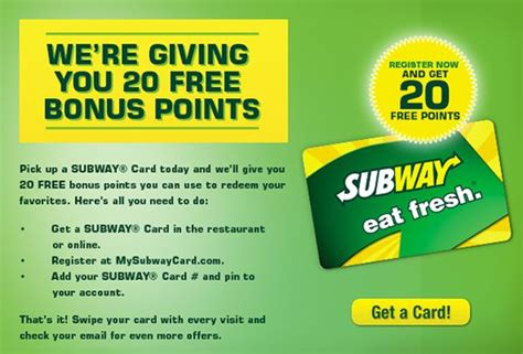How To Check Subway Gift Card Balance - www mysubwaycard com subway card login to check balance get online benefits