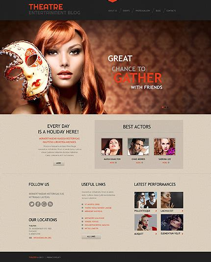 theme exles in plays 50 art culture wordpress themes for spiritual