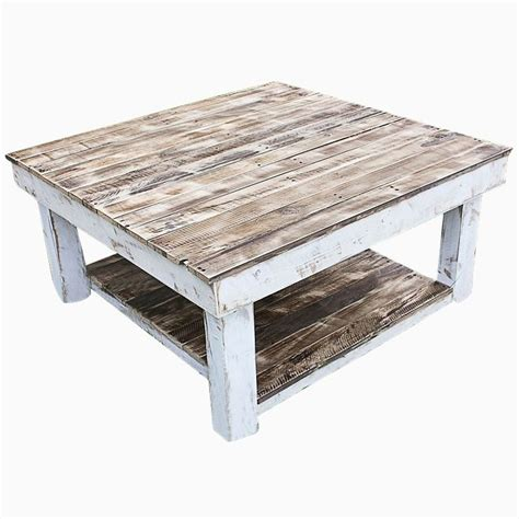 Clear Dining Room Table by Buy A Hand Made Shabby Farmhouse Reclaimed Wood Coffee