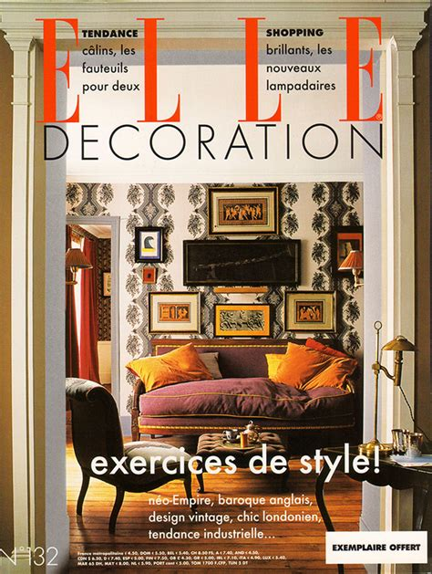 design magazine francais elle decoration france caumont interiors