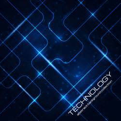 technology template abstract technology pattern vector background 01