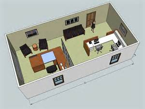 Layout 3d 3d Office Design Service Wny Office Space