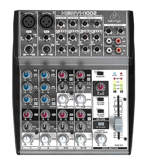 Mixer Behringer Xenyx X1204 Usb behringer xenyx x1204 usb behringer xenyx x1204 usb 12ch mixer with 60mm faders 4 mic