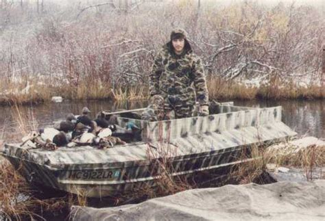 punt boat duck hunting the duck hunter s boat page
