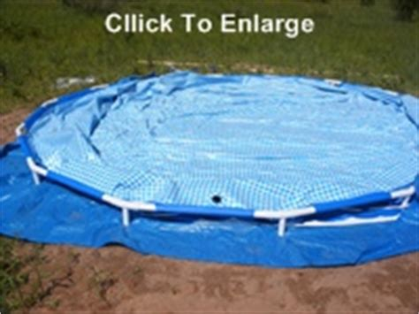 how to level backyard for pool how to set up 15 foot intex metal frame above ground