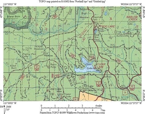 map of hwy 26 oregon cascade ramblings cascader clear lake mt national