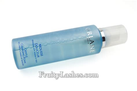 Makeover Light Remover orlane gentle cleansing foam eye make up remover review fruity lashes