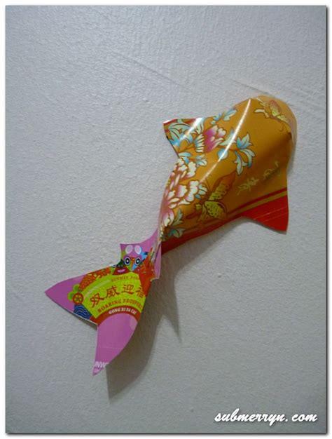 new year diy goldfish 賀年摺紙 diy new year decor ang pow koi fish 171 home