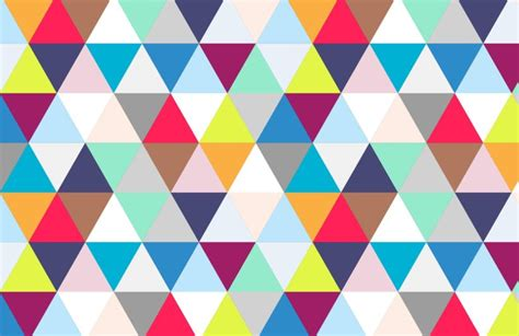 Bathroom Design Colors Multicoloured Triangles Wallpaper Muralswallpaper Co Uk