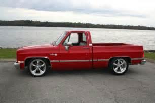 1987 Chevy Truck Custom Wheels 1987 Chevy Gmc C10 R10 Swb Tbi 4 5 5 5 Drop 20x8