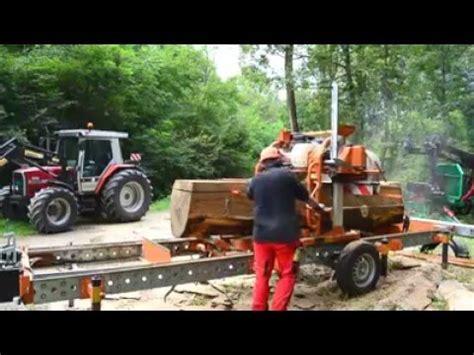 segheria mobile lavorare con una segheria mobile working mobile sawmill