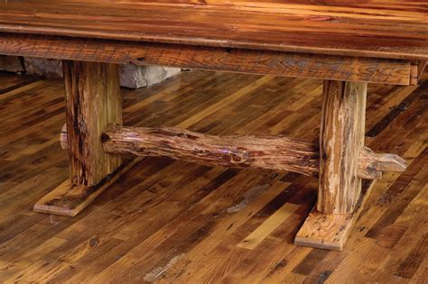 finding the artistic barn wood furniture trellischicago