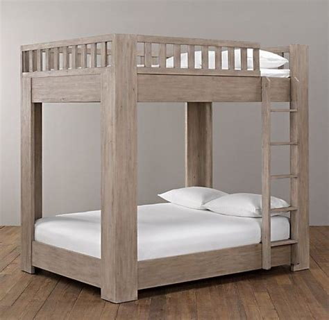 bunk bed plans full  full woodworking projects amp