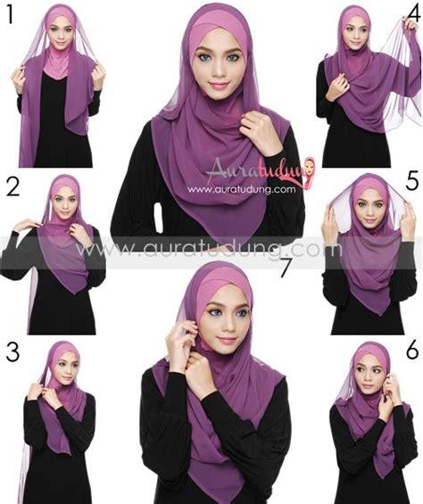 tutorial hijab syar i yang modis tutorial pashmina yang syar i 56 best styles images on