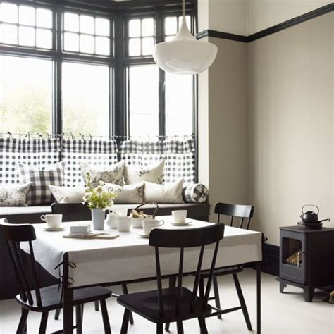 Black And White Dining Room Set by Furniture Scandinavian Dining Room Design Ideas