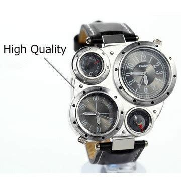 Jam Alarm Unik jam tangan unik multifungsi dengan kompas dan termometer