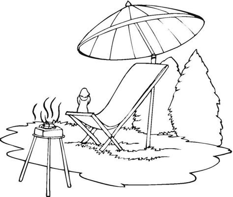sun umbrella coloring page 77 coloring page beach umbrella beach chair