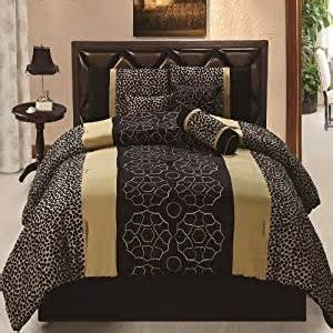 Black And Gold King Size Bed Set Coupon For 7pcs Black Gold Gray Leopard Embroidered Bed In