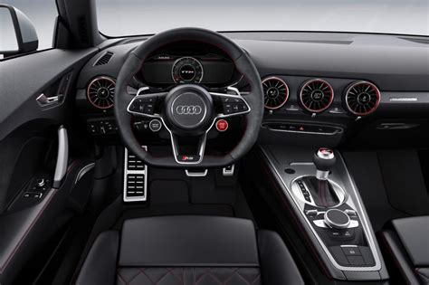 Audi Tt Rs Interior by New Audi Tt Rs 2016 Revealed Pictures Auto Express