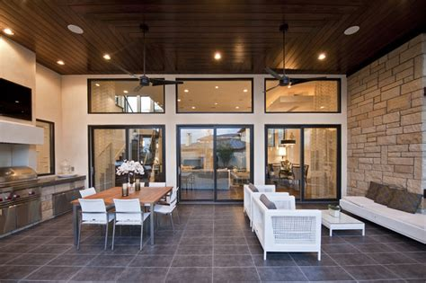 houzz homes floor plans neo prairie style parade home transitional patio