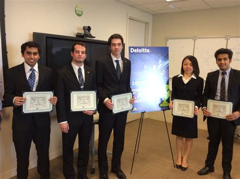 Deloitte Mba Sponsership by Deloitte Consulting 3rd Annual Competition Drexel Lebow