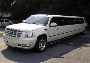 Limousine Cadillac Escalade Only Pictures Cadillac Escalade Limo
