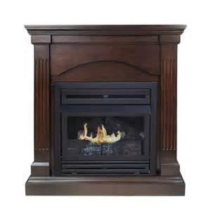 shop pleasant hearth 35 75 in dual burner vent free