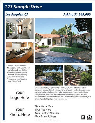 templates for house for sale by owner flyers for sale by owner flyer template fsbo pinterest real