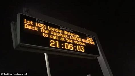 Surbiton To Vauxhall Times South West Trains Injects Festive Cheer Into Its Routes