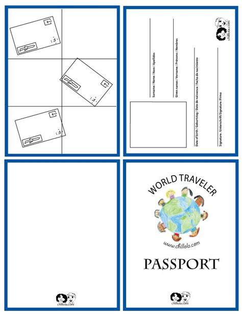 make your own passport template passport template passport for passport www