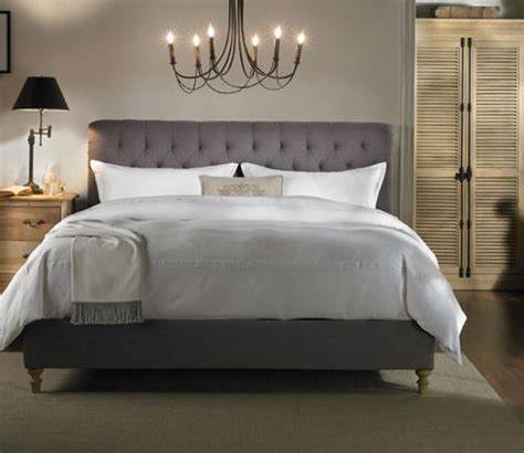 the hayworth series bed has the classic charm of the