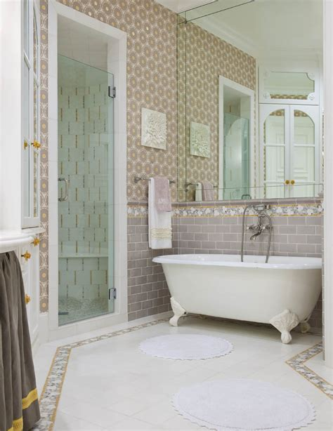 bathrooms with subway tile ideas 30 great pictures and ideas of old fashioned bathroom tile
