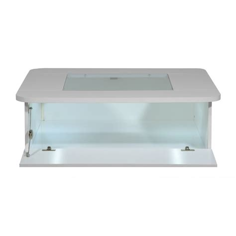 coffee tables with led lights floyd contemporary high gloss coffee table with optional