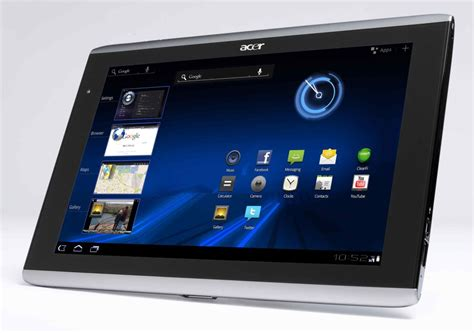 for android tablet get an acer iconia 10 inch android tablet for 299 98 cnet